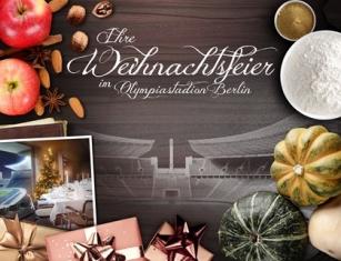 Berlin: Für Ihre außergewöhnliche Weihnachtsfeier – auf ins Olympiastadion Berlin!