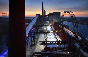 130 m2 mehr Winterspektakel auf Zollverein