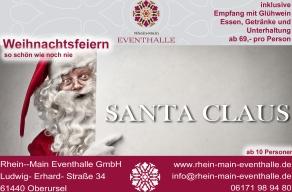 Oberursel / Ts.: Weihnachtsfeiern mit Santa Claus