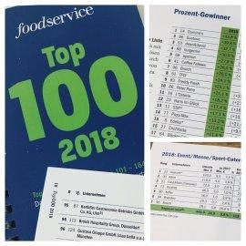 BROICH unter den Top 100 Gastro-Unternehmen Deutschlands!