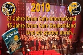 Drum Cafe feiert doppeltes Jubiläum!