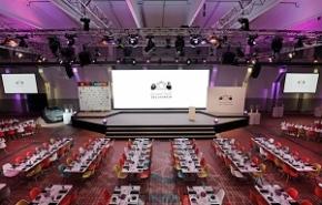 Essen: Grand Hall – Investitionen in Mobiliar und zusätzliche Veranstaltungstechnik