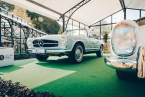 Classic Days 2018: Zeltkonstruktion im Jugendstil & Orangerie
