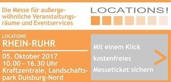 Neue Themenflächen auf der LOCATIONS Rhein-Ruhr
