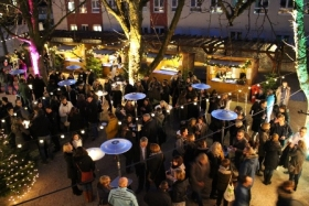 Heppenheim : Weihnachtsfeier auf dem Weihnachtsmarkt