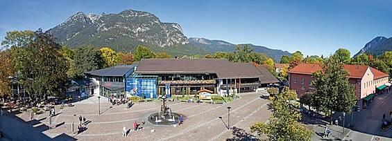 Garmisch-Partenkirchen: Ihr Event mit Bergpanorama  - freie Kapazitäten im Kongresshaus