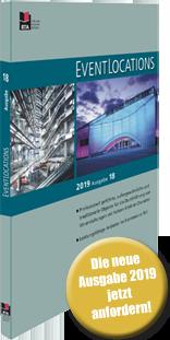 Jetzt kostenfrei: Ihr persönliches Handbuch EVENTLOCATIONS 2020