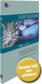 Handbuch EventLoctions 2019 – der Locationguide mit 1100 Locations und Sublocations