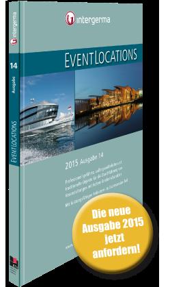 Handbuch EVENTLOCATIONS 2015 – jetzt kostenlos anfordern