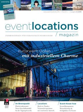 Eventlocations Magazin Ausgabe 3/19 - Gute Infos für Veranstaltungsprofis