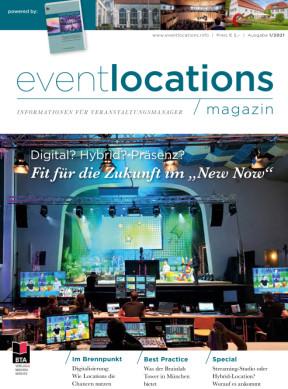 Eventlocations Magazin Ausgabe 1/21 - Gute Infos für Veranstaltungsprofis