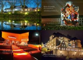 Willy-Brand-Halle, Mühlheim am Main - Glanzvoll: Tagen und speisen im Rhein-Main-Gebiet Historisches Bürgerhaus, Langenberg - Faszinierend:Veranstaltungen in uralten Mauern.
