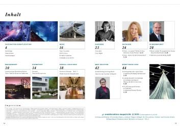 Inhalt Magazin 'eventlocations'
