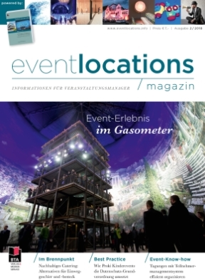 Das Magazin Eventlocations 1/18