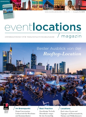 Das Magazin Eventlocations 3/18