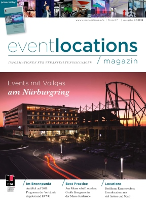 Das Magazin Eventlocations 4/18