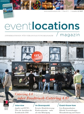 Das Magazin Eventlocations 4/17