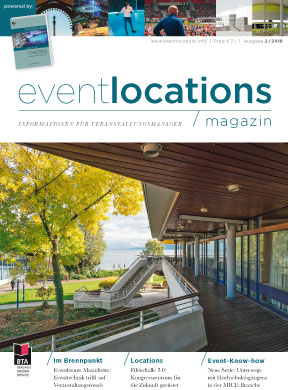 Das Magazin Eventlocations 2/19