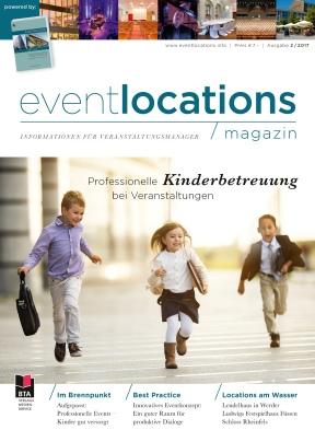Zum ePaper - Das Magazin Eventlocations 2/17