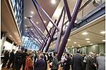 Empfangen Sie Ihre Gäste mit spannender Architektur im Neckar Forum in Esslingen.