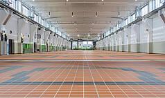 Essen Grand Hall UNESCO Welterbe Zollverein OG leer