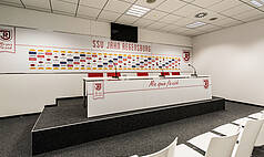 Regensburg: Jahnstadion Regensburg - Pressekonferenzraum