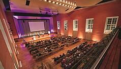 Hanau bei Frankfurt Congress Park Hanau Paul-Hindemith-Saal Präsentation, Foto: kapix/Alex Kraus