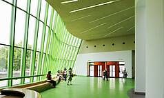 Stuttgart Staatsgalerie Stuttgart Foyer Neue Staatsgalerie