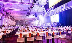 Essen Grand Hall UNESCO Welterbe Zollverein Abend Vernanstaltung ca. 1150 Personen