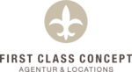 Logo von FIRST CLASS CONCEPT - Agentur & Locations