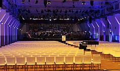 Essen Grand Hall UNESCO Welterbe Zollverein Reihenbestuhlung Konzert
