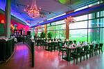 Panorama-Restaurant mit Blick auf den Rhein
