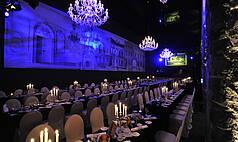 Dresden: Kurländer Palais - Galabestuhlung im Festsaal