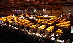 Mannheim SAP Arena Nebenhalle