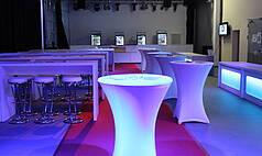 Crailsheim Hangar, Die Eventlocation Foyer Catering01