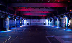 Bremen ENERGIELEITZENTRALE - BLG-FORUM & GENERATORENHALLE LED-Multicolor-Ambiente Lights