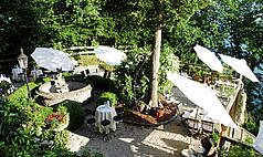 St. Wolfgang scalaria schloss | Garten