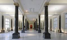 Stuttgart Staatsgalerie Stuttgart Säulensaal
