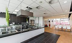 Regensburg: Jahnstadion Regensburg - Barbereich im Businessclub II