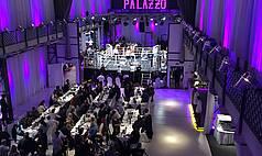 Karlsruhe Palazzo Halle Fächersport BoxGala Palazzo Halle
