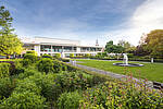 Gartenansicht Congress Park Hanau, Foto: Noel Kachouh