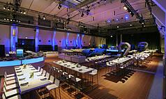 Essen Grand Hall UNESCO Welterbe Zollverein Obergeschoss Grand Hall