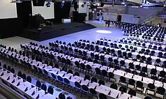 Crailsheim Hangar, Die Eventlocation Halle Abendveranstaltung