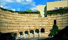 Stuttgart Staatsgalerie Stuttgart Rotunde der Neuen Staatsgalerie mit Skulpturen von Johann Heinrich Dannecker