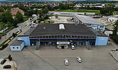 Crailsheim Hangar, Die Eventlocation Luftbild