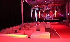 Crailsheim Hangar, Die Eventlocation Foyer Clubnight