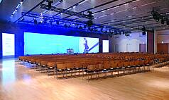 Hanau bei Frankfurt Congress Park Hanau Brueder-Grimm-Saal; Foto: einzigkartig