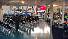 Hockenheim: Hockenheimring Baden-Württemberg - Tagung inmitten wertvoller Exponate im Motorsportmuseum