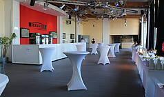 Crailsheim Hangar, Die Eventlocation Foyer Catering