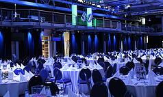 Crailsheim Hangar, Die Eventlocation Gala Bestuhlung